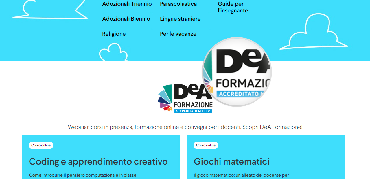 Elementi di design su Deascuola.it