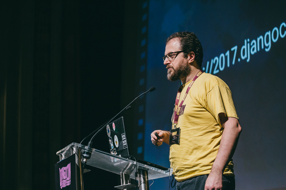 DjangoCon Europe opening