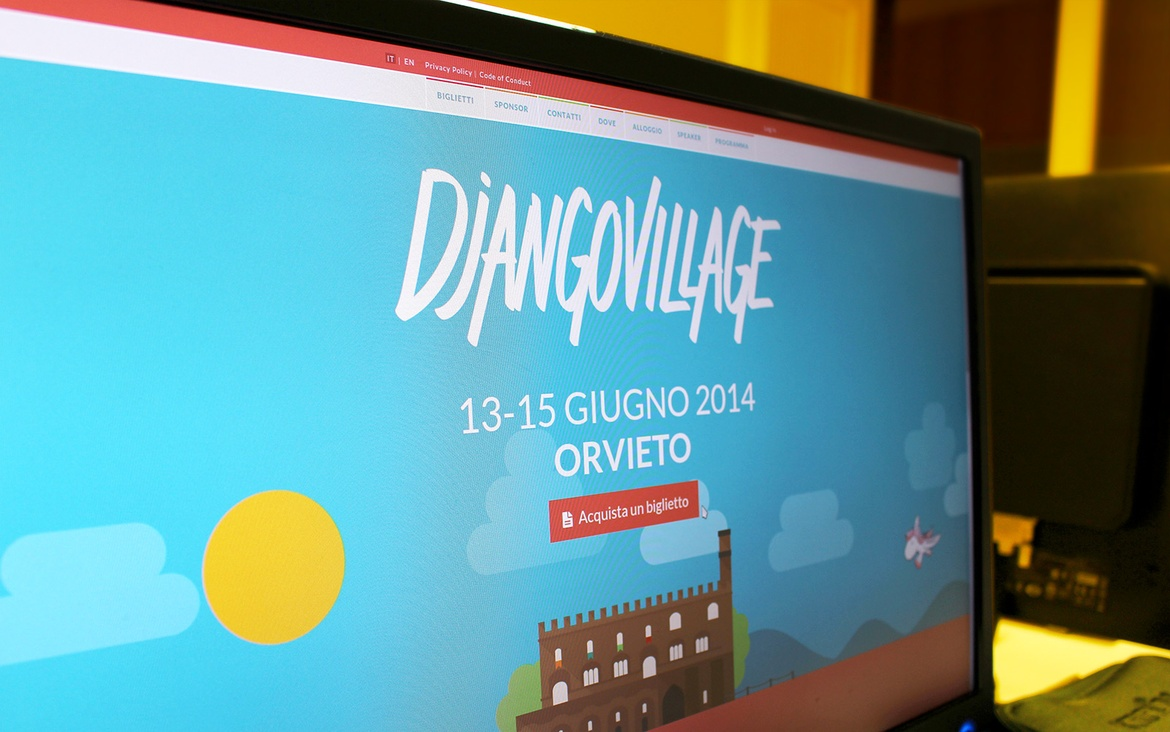 DjangoVillage website