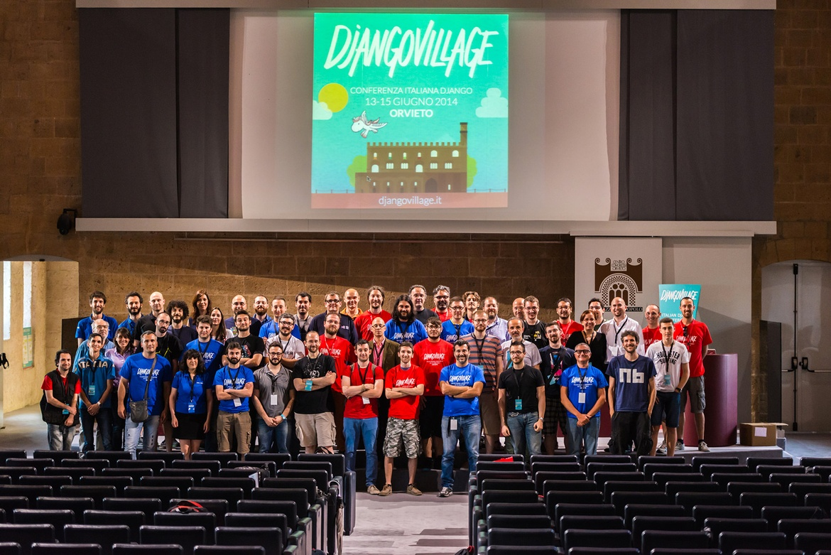 DjangoVillage participants