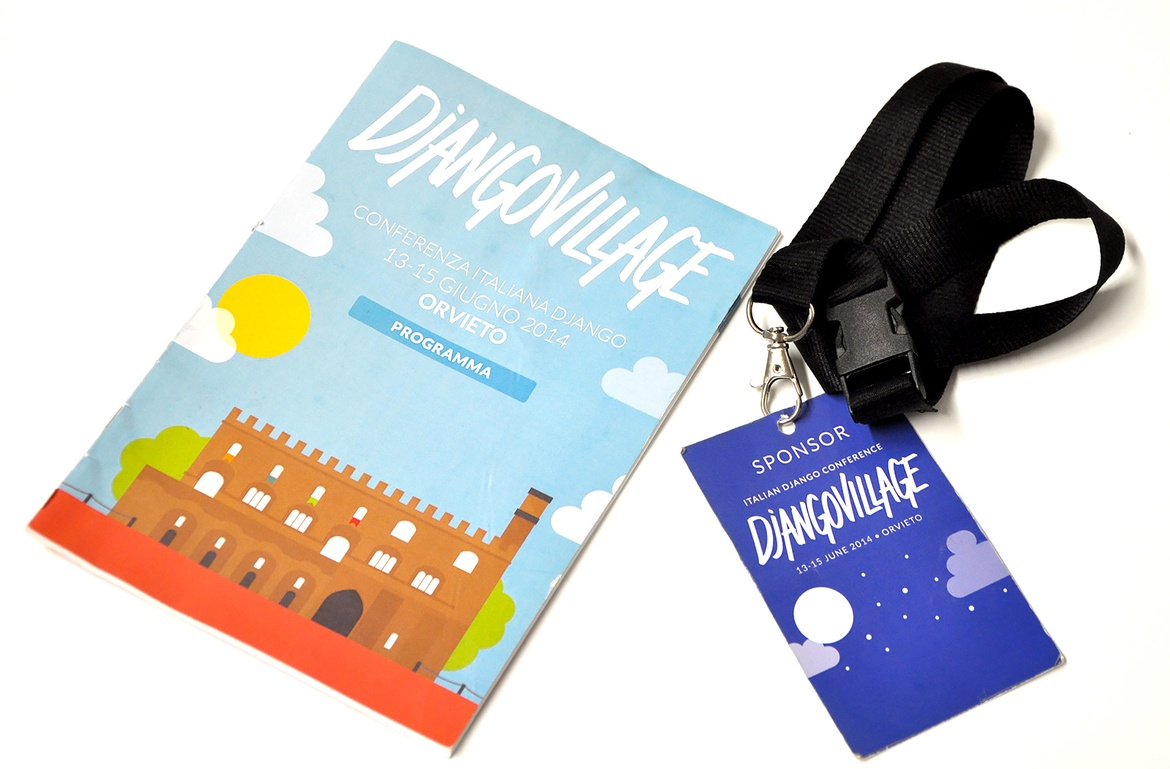 DjangoVillage merchandising