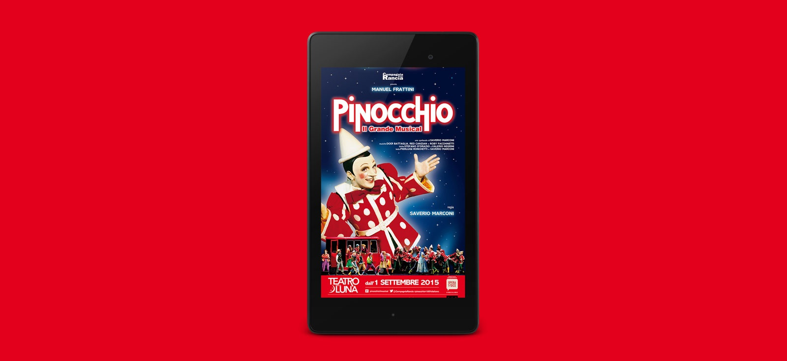Opera Voice for Pinocchio musical