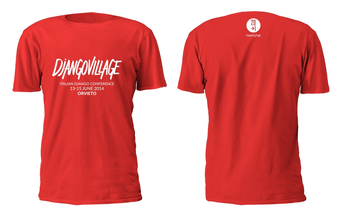 DjangoVillage t-shirt